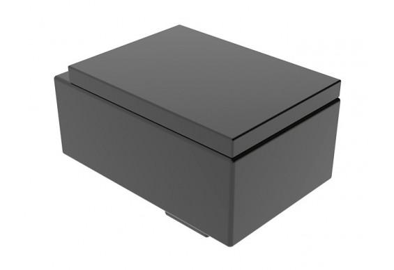 Підвісний унітаз GSG BOX 53 см matt Black (BXWCSO003)