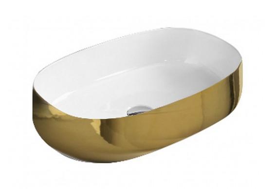 Умивальник на стільницю ArtCeram Cognac 55, gold (COL0030156)