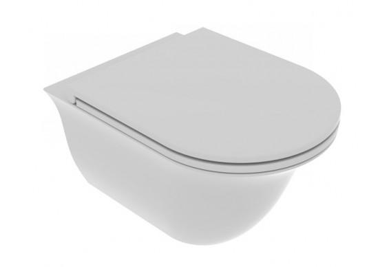Підвісний унітаз GSG Flut 52,5 см Smart Clean matt Cloud (FLWCSO019)
