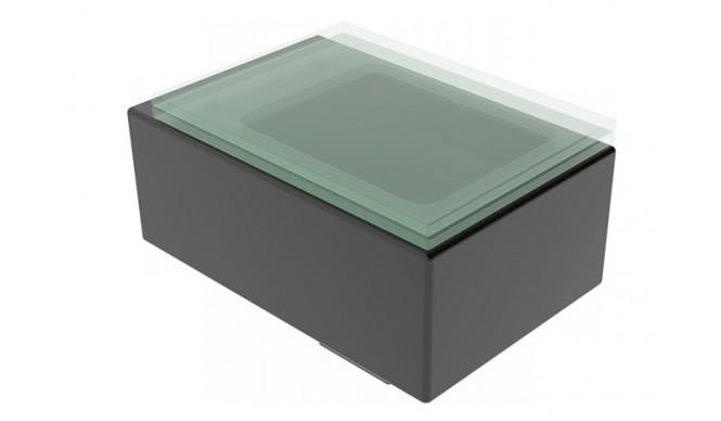 Підвісний унітаз GSG GLASS 53 см matt Black (GLWC01003)