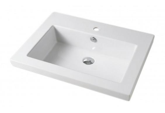 Врізний умивальник ArtCeram Gap 71, white (GPL0020100)