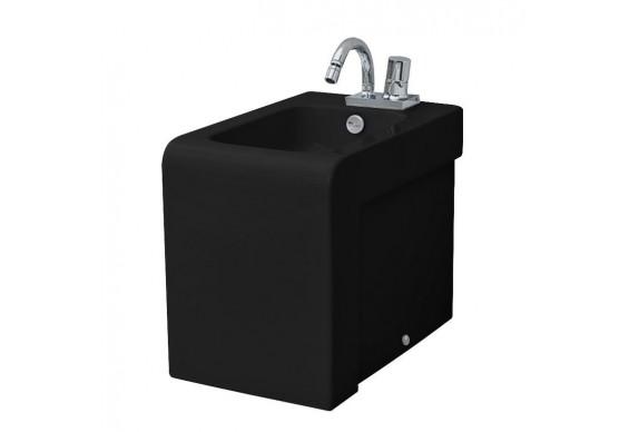 Підлогове біде ArtCeram La Fontana, glossy black (LFB0040300)