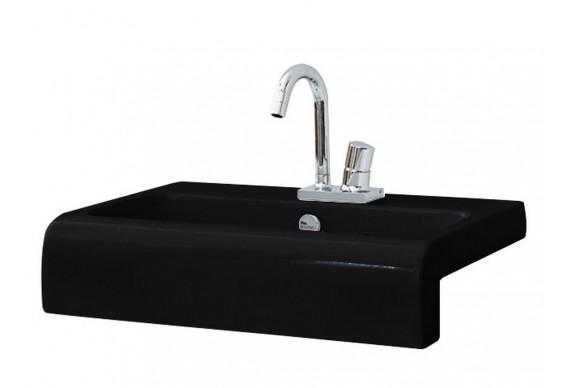 Умивальник на стільницю ArtCeram La Fontana, glossy black (LFL0050300)