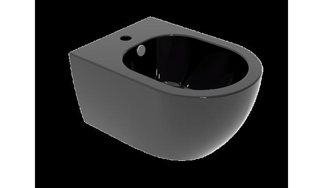 Підвісне біде GSG LIKE 52,5 см glossy Black (LKBISO002)