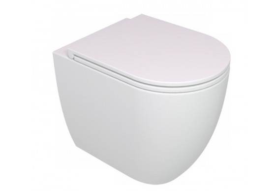 Унітаз підлоговий GSG LIKE 52,5 см Smart Clean white matt (LKWC01001)