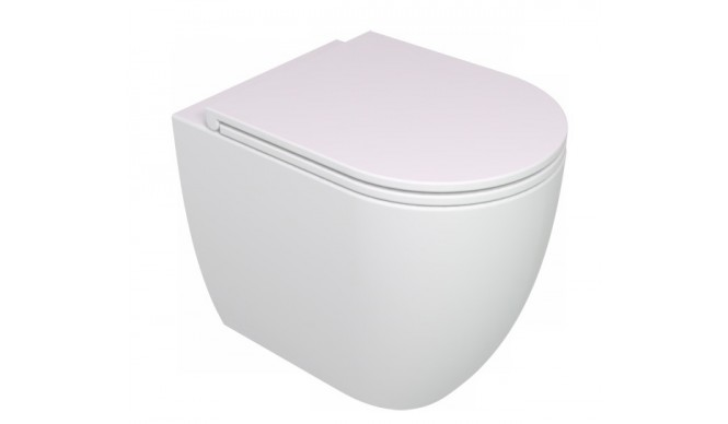 Унітаз підлоговий GSG LIKE 52,5 см Smart Clean white matt (LKWC01001)