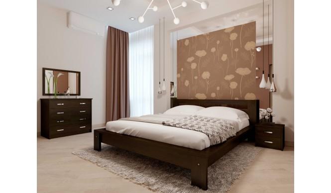Двоспальне ліжко НеоМеблі Сакура 140х200 (NM28/200)