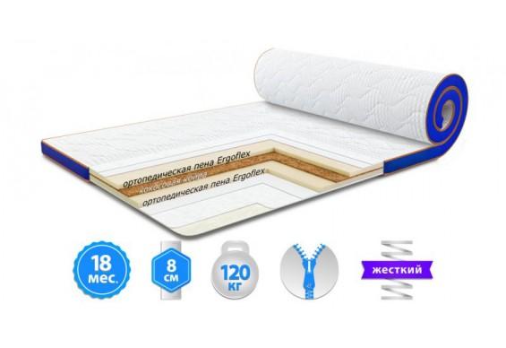 Футон Sleep&Fly Flex Kokos Стрейч 80x190 см (3003730801906)