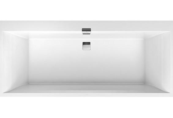 Ванна Villeroy&Boch Squaro Edge 160x75 + сифон + ніжки (UBQ160SQE2DV-01)