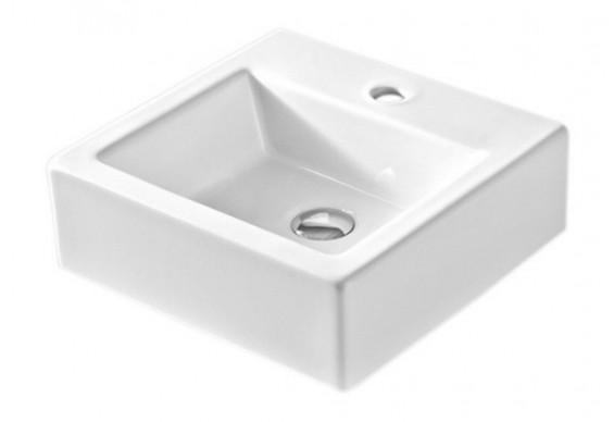 Умивальник на стільницю ArtCeram Fuori box 50, white (TFL0220100)