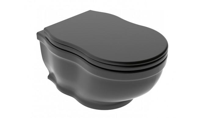 Підлоговий унітаз GSG TIME 54 см matt Black (TIWCSO003)