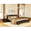 Односпальне ліжко Естелла Венеція Люкс 120х190 буковий щит (OL-15.2)