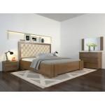 Двоспальне ліжко Арбор Древ Амбер з підйомним механізмом ромб 180х200 сосна (ADR180)