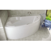 Акрилова ванна Besco Ada 140x90 L, асиметрична (WAA-140-NL)