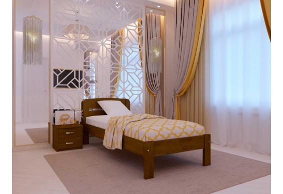 Односпальне ліжко НеоМеблі Октавія С1 120х200 (NM6/200)