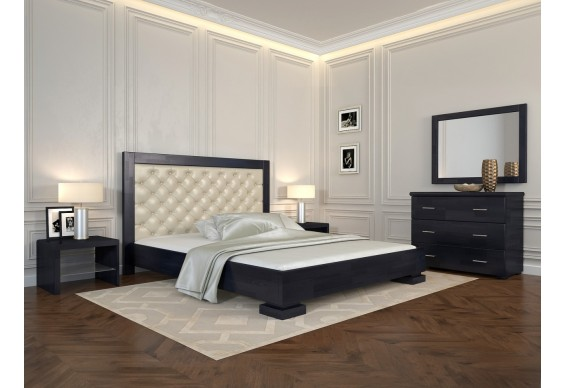 Двоспальне ліжко Арбор Древ Подіум ромб 180х200 сосна (RD180)