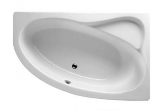 Ванна Riho Lyra асиметрична 140x90 см, L + ніжки (BA66)