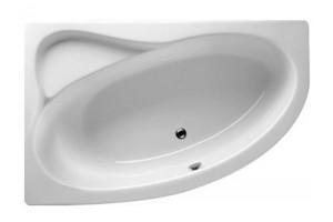 Ванна Riho Lyra асиметрична 153,5x100,5 см, R + ніжки (BA67)