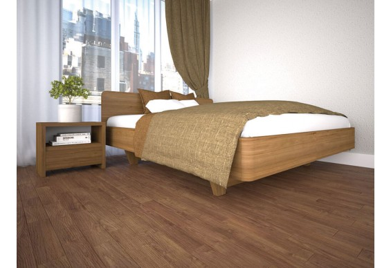Односпальне ліжко ТИС Ліана 120x200, дуб (TYS902)