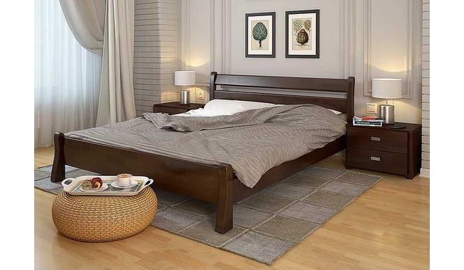 Двоспальне ліжко Арбор Древ Венеція 140х200 бук (VB140)