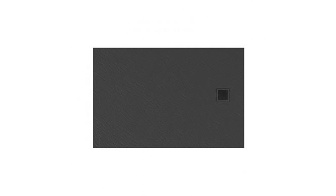 Душовий піддон NEW TRENDY MORI 140x80x3,5 см, сірий RAL 7040 (B-0400)
