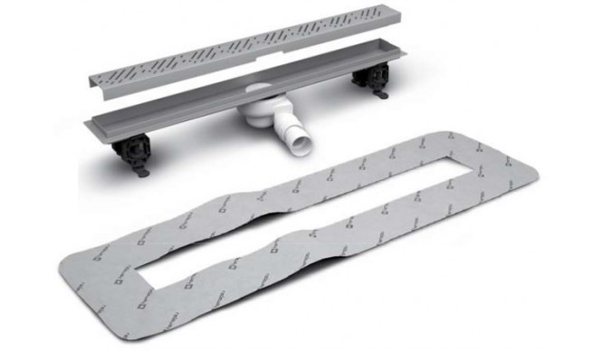 Лінійний трап Radaway, для укладання плиткою від 5 до 7мм, 1050мм (5L105B)