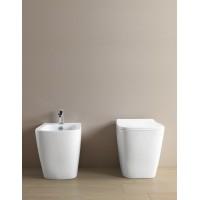 Підлоговий унітаз ArtCeram A16 THE. RIMLESS, glossy white (ASV0040100)