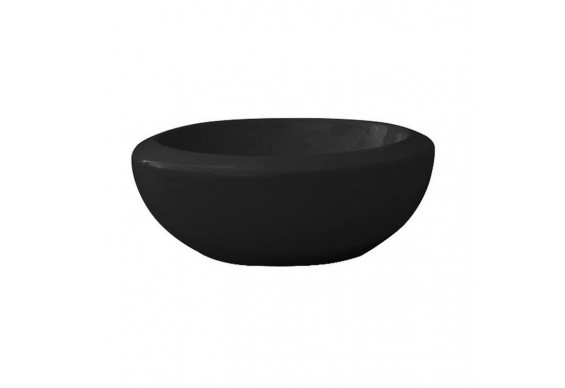 Умивальник чаша ArtСeram Blend, glossy black (BLL0010300)