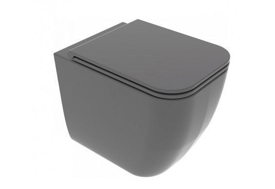 Унітаз підлоговий GSG BRIO 52,5 см Smart Clean matt Ash (BRWC01021)