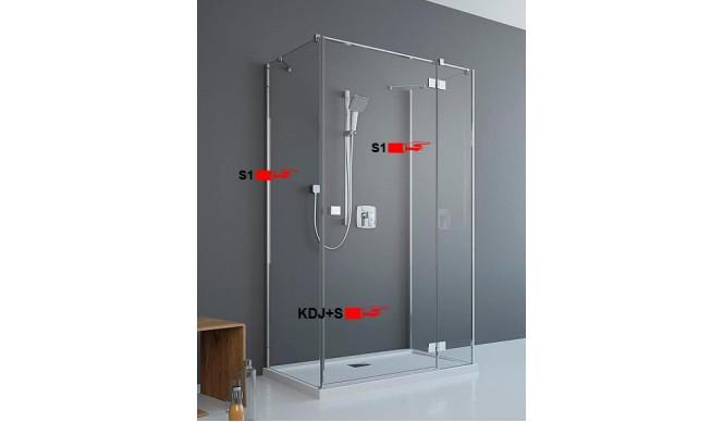 Двері для П-подібної душової кабіни Radaway Essenza New KDJ+S 90 праві (385020-01-01R)