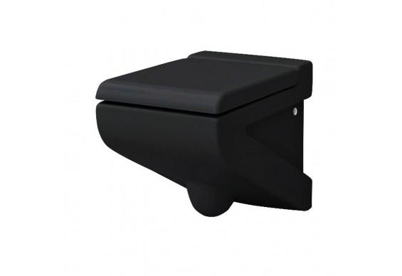 Підвісний унітаз ArtCeram La Fontana, glossy black (LFV0010300)