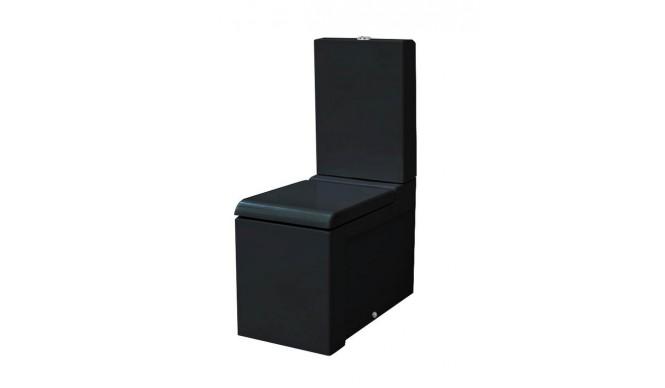 Унітаз моноблок ArtCeram La Fontana, glossy black (LFV0030300)