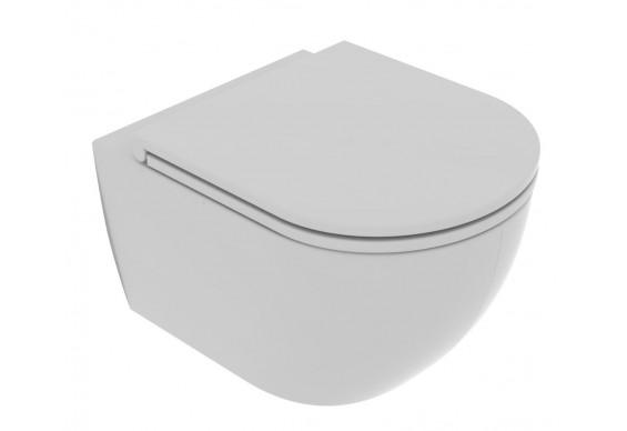 Підвісний унітаз GSG LIKE XXS 48,5 см Smart Clean matt Cloud (LKWCSOXXS019)