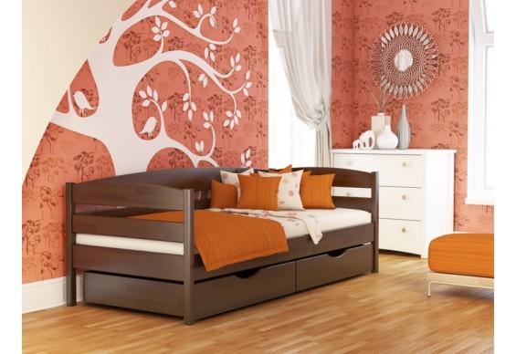 Дитяче ліжко Естелла Нота Плюс 80х190 буковий щит (DL-01)