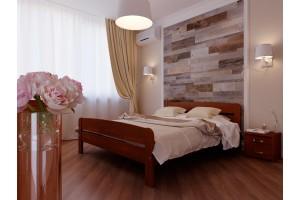 Двоспальне ліжко НеоМеблі Октавія С2 140х190 (NM21)