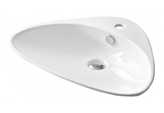 Умивальник на стільницю ArtCeram Plettro, white (PTL0010100)