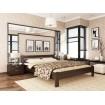 Двоспальне ліжко Естелла Рената 180х190 буковий масив (DV-36)