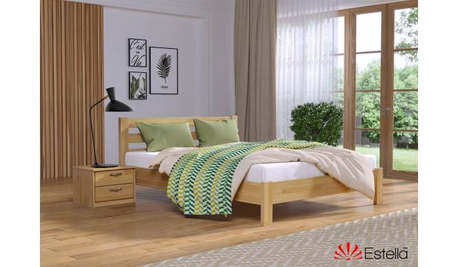 Односпальне ліжко Естелла Рената Люкс 90x190 буковий щит (EST-5)