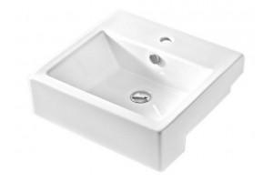 Умивальник на стільницю ArtCeram Fuori box semincasso, white (TFL0230100)