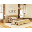 Односпальне ліжко Естелла Венеція Люкс 80х190 буковий щит (OL-13)