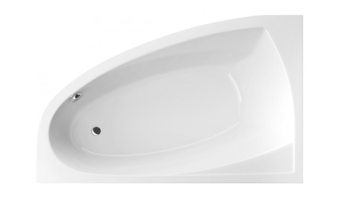 Ванна Excellent Aquaria Comfort 1600x1000 мм, ліва + ніжки (WAEX.AQL16WH)