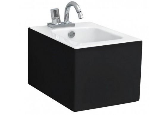 Підвісне біде ArtСeram Block, black white (BKB0010150)