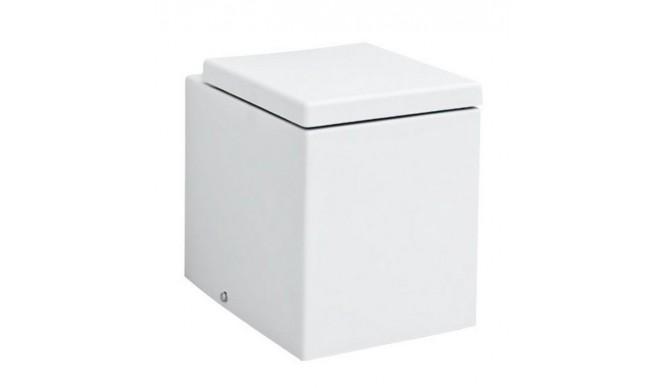 Підлоговий унітаз ArtCeram Block, matt white (BKV0020500)