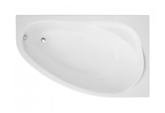 Ванна Polimat Marea асиметрична 150х100, R + ніжки (00293)