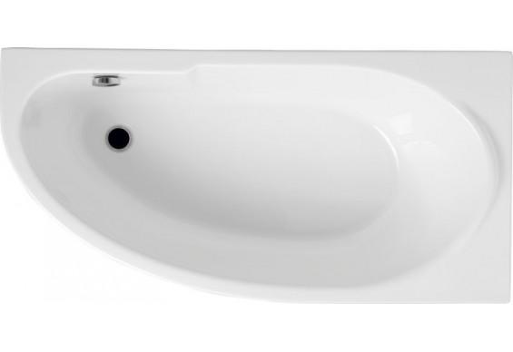 Ванна Polimat Miki асиметрична 140х70, R + ніжки (00362)