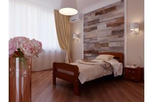 Односпальне ліжко НеоМеблі Октавія С2 80х190 (NM7)