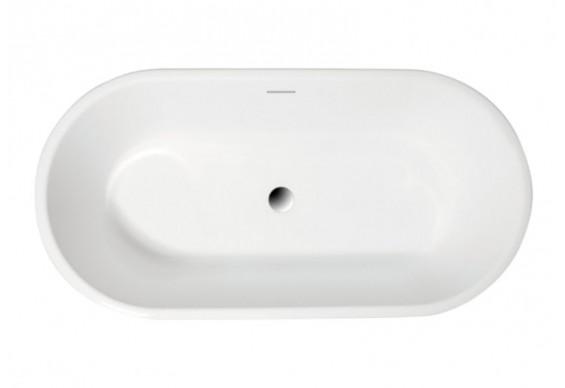 Ванна Polimat Amona New 150х75 чорна + ніжки (00058)