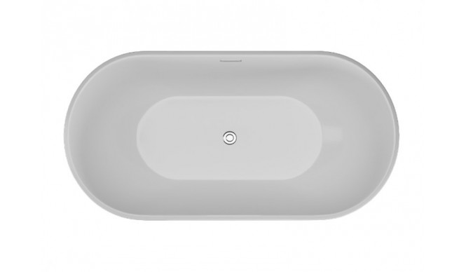Ванна Polimat UZO 160х80 чорна мат + ніжки (00337)