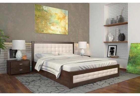 Двоспальне ліжко Арбор Древ Рената Д з підйомним механізмом 160х200 бук (RDB160)