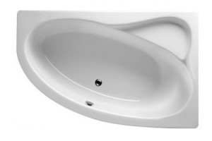 Ванна Riho Lyra асиметрична 153,5x100,5 см, L + ніжки (BA68)